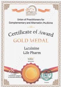 Laminine Certificat