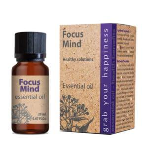 Ulei esential Focus Mind pret tonic si stimulent emotional mental fizic
