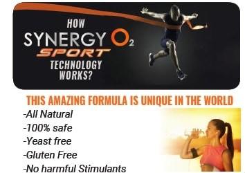 Synergy O2 Sport pret energie oxigenare SynergyO2 Sport natural unic